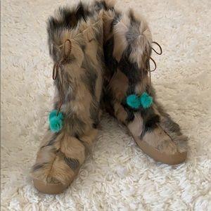 ❣️ Kate Spade Alaska Camel Fur Boot ❣️